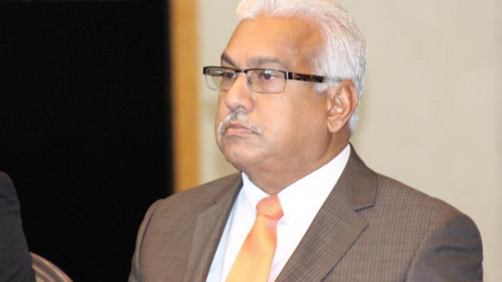 Photo: Health Minister Terrence Deyalsingh
