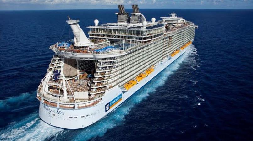 Royal Caribbean cruise liner (Internet image)