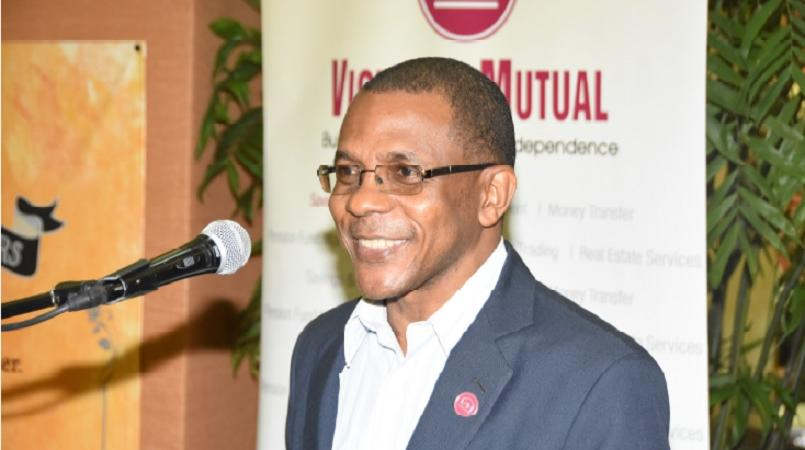 Courtney Campbell, President and Chief Executive Officer of the Victoria Mutual Group.