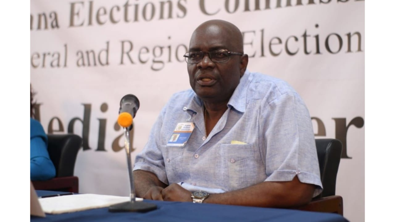 Guyana Chief Elections Officer, Keith Lowenfield