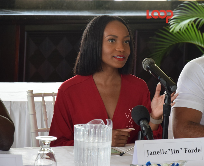 Janelle 'Jin' Forde, head designer and co-founder of Vida Barbados.