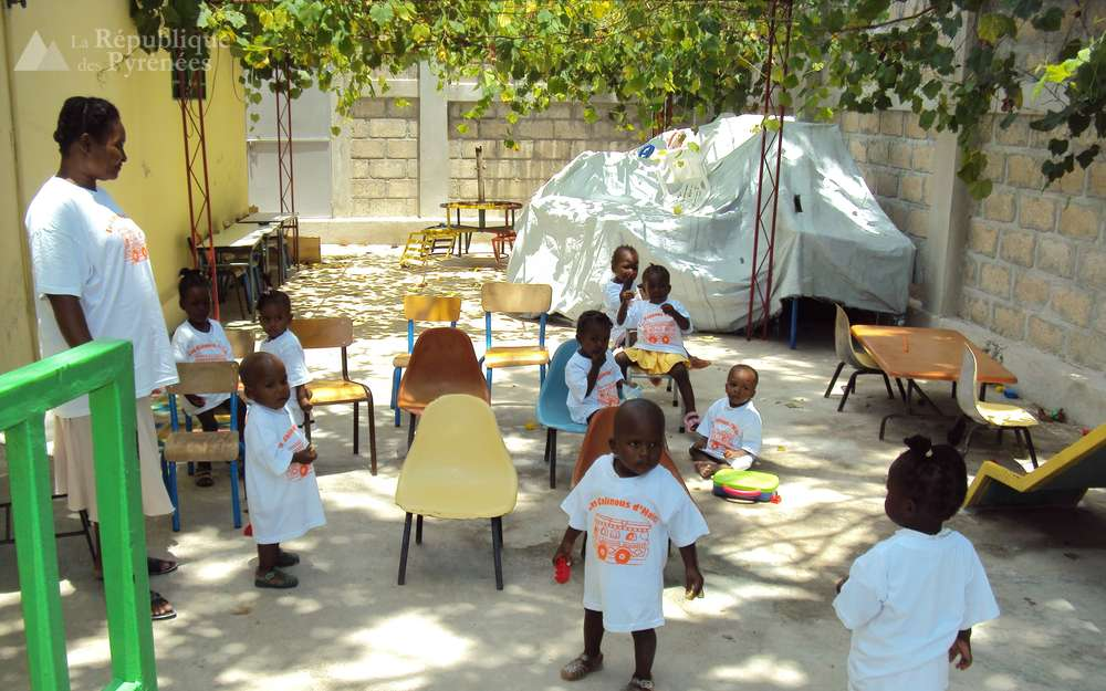 Photo illustrant l'orphelinat haïtien La République des Pyrénées. Photo: La République des Pyrénées
