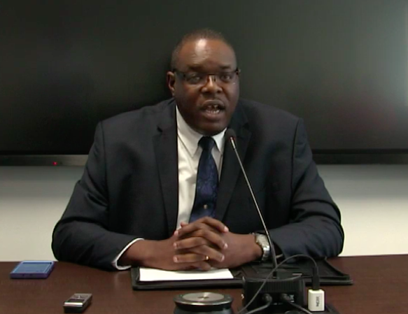 Chief Executive Officer and Registrar of the Caribbean Examinations Council, Dr Wayne Wesley.