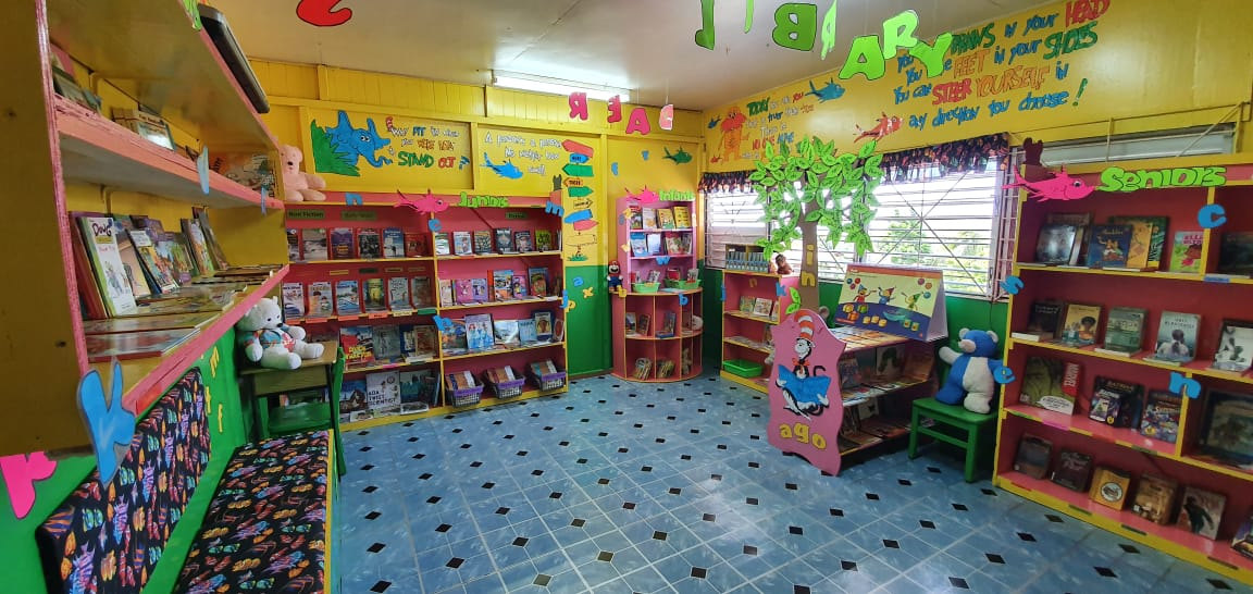 Library at Ciceron RC Combined Primary School