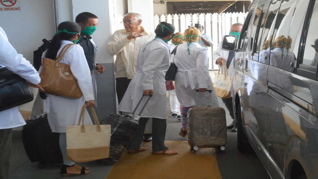 Cuban medical teams have been arriving in territories across the region to provide aid in the fight against COVID-19