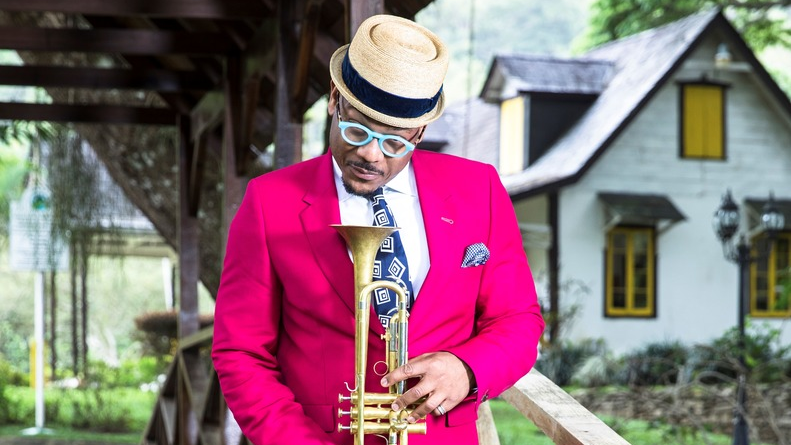 Trumpeter Etienne Charles will hold a masterclass and workshop at the Carifesta Symposium which begins today. Photo: Maria Nunes