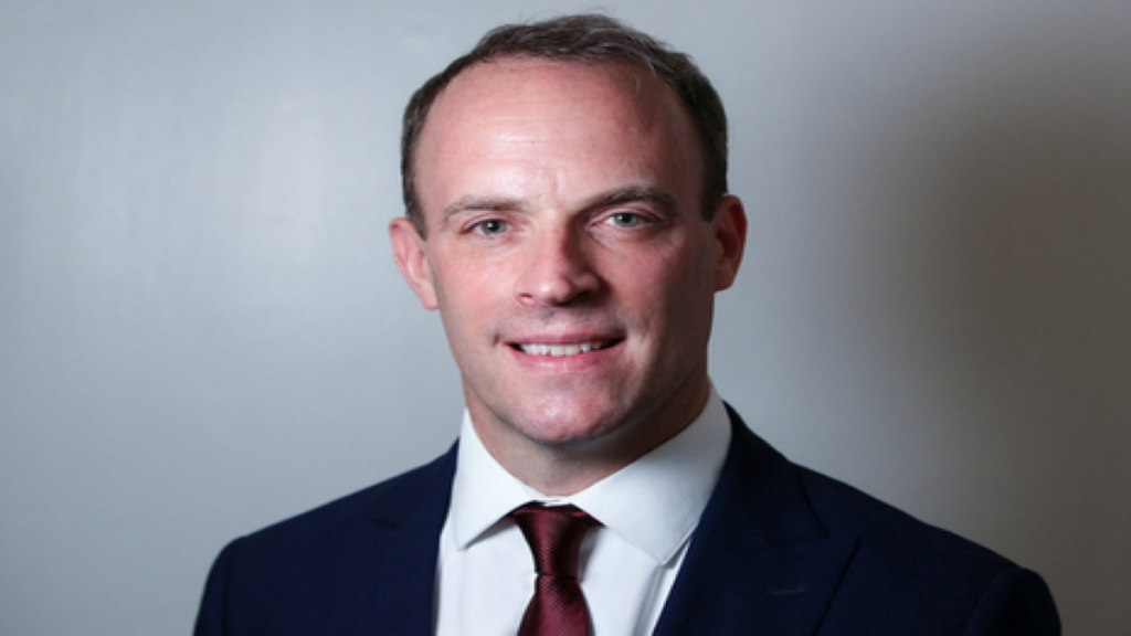 Secretary of State for Foreign and Commonwealth Affairs Dominic Raab. Photo: Foreign and Commonwealth Office