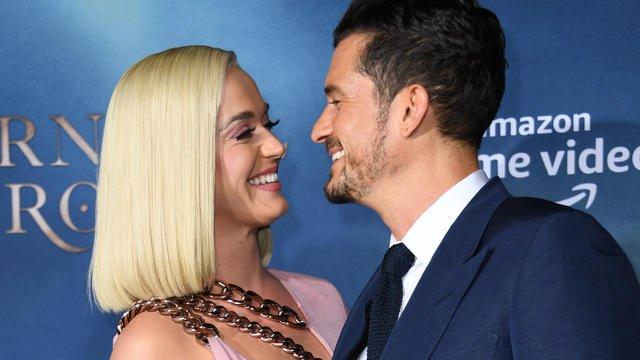 Katy Perry avait déjà été mariée avec Russell Brand, ils s'étaient notamment quittés car, à l'époque, elle ne voulait pas d'enfant. [VALERIE MACON / AFP]