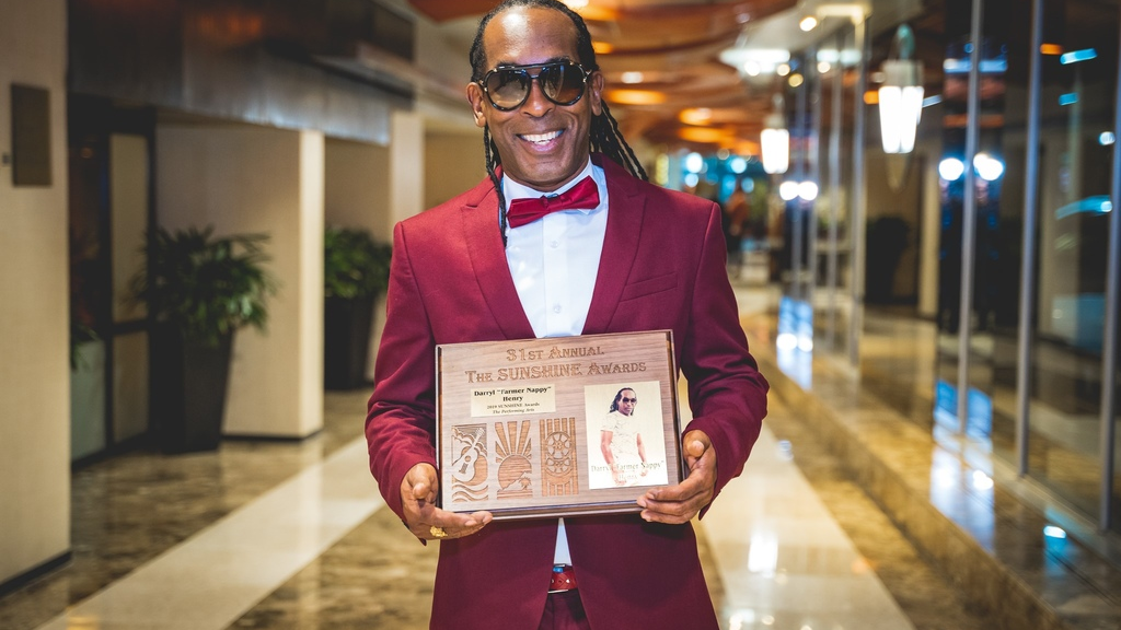 Farmer Nappy was honoured at the 31st Sunshine Awards in New York on Saturday.