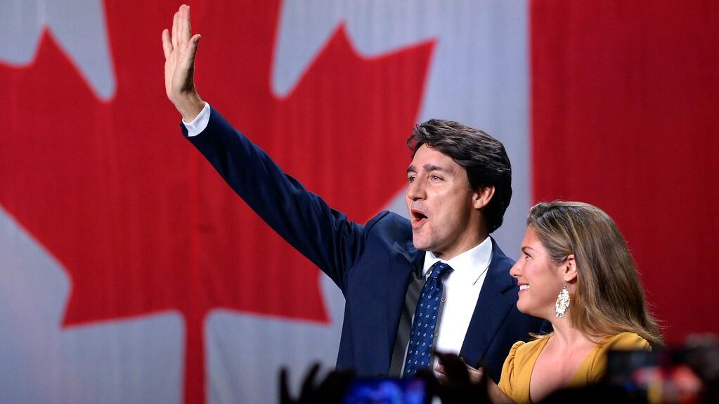 Canadian Prime Minister Justin Trudeau wit wife, Sophie Grégoire Trudeau. (Photo: AP)