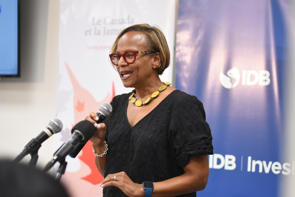 Therese Turner- Jones, IDB country representative for Jamaica.