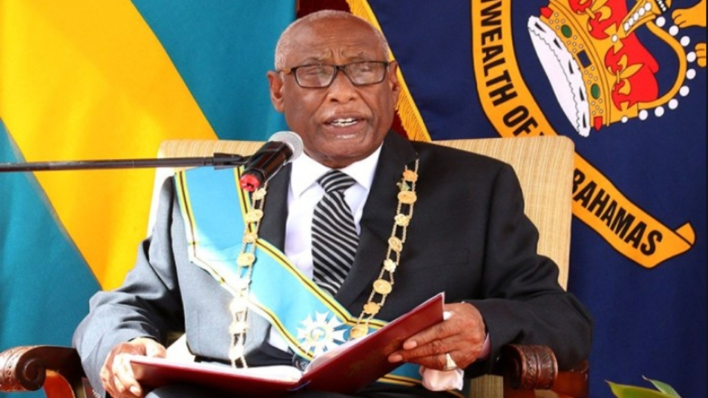 Governor-General Cornelius Smith. Photo: Ministry of Foreign Affairs, Bahamas