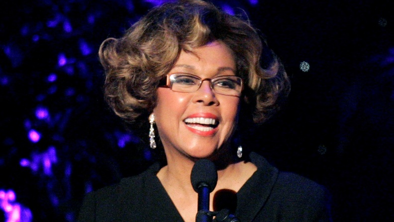 This June 14, 2007 file photo shows Diahann Carroll speaking at the 2007 Crystal and Lucy Awards in Beverly Hills, Calif. Carroll died, Friday, Oct. 4, 2019, at her home in Los Angeles after a long bout with cancer. She was 84. (AP Photo/Mark J. Terrill, File)