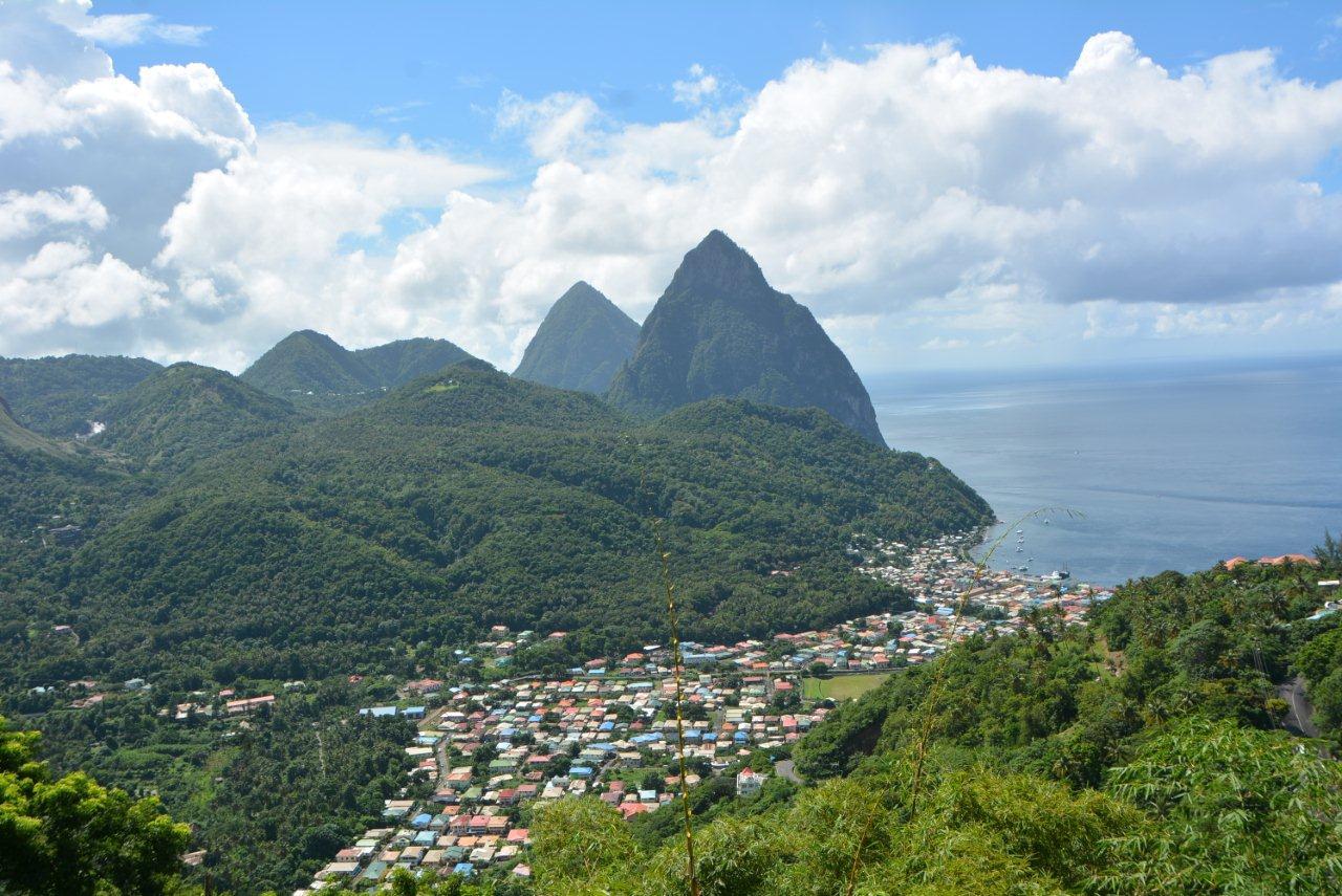 The Pitons, St Lucia (Aisha Sylvester)