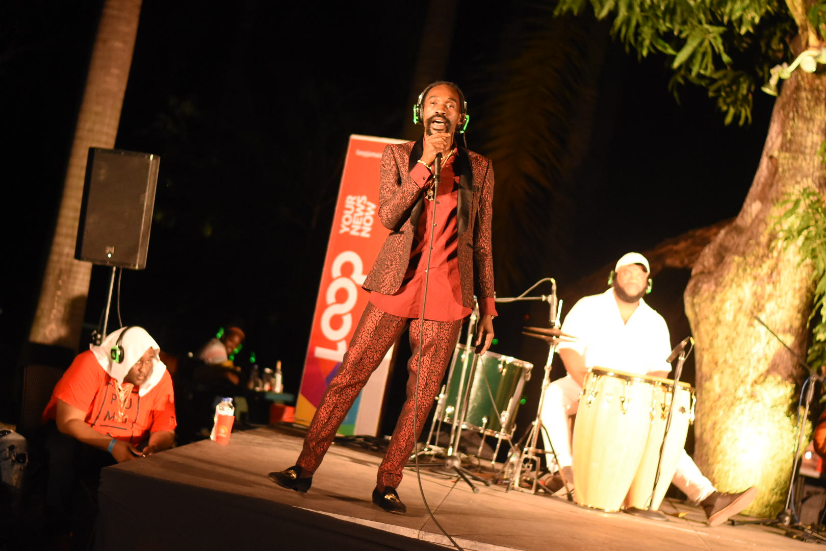 Dancehall vet Munga Honorable delivered the performance of the night.