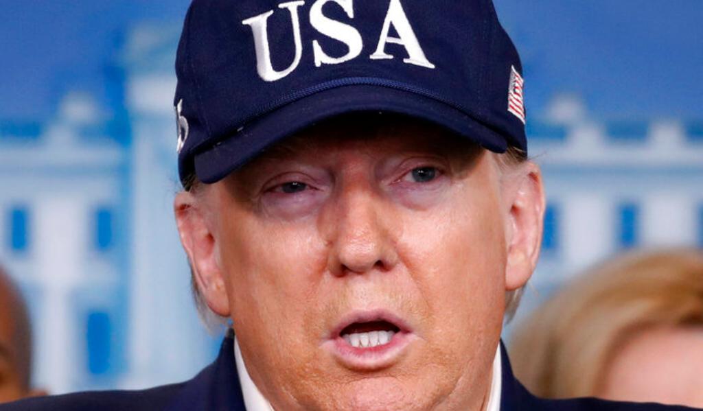 US President Donald Trump by Alex Brandon (AP)