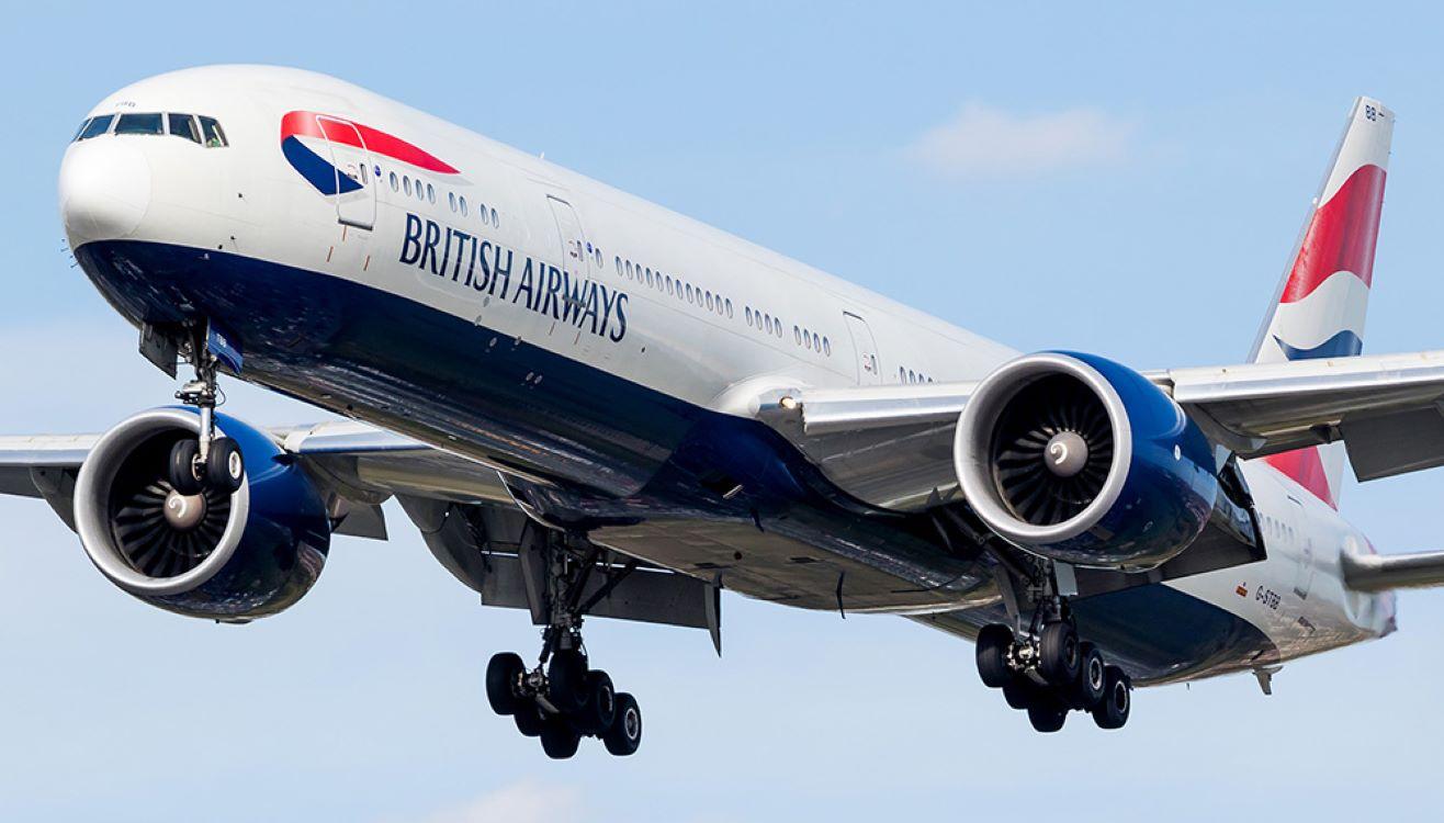British Airways Boeng 777  Photo source: aviationtribune.com/