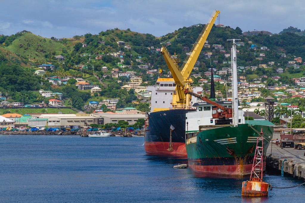 Kingstown Harbour, St Vincent and the Grenadines [iStock/Orietta Gaspari]