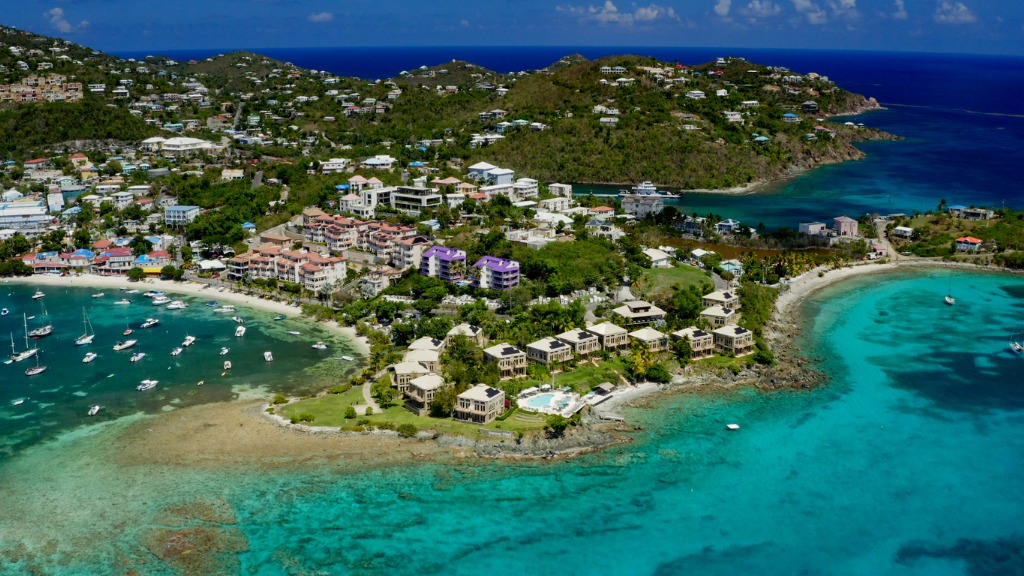 Cruz Bay, St John, Virgin Islands. Photo: iStock/cdwheatley
