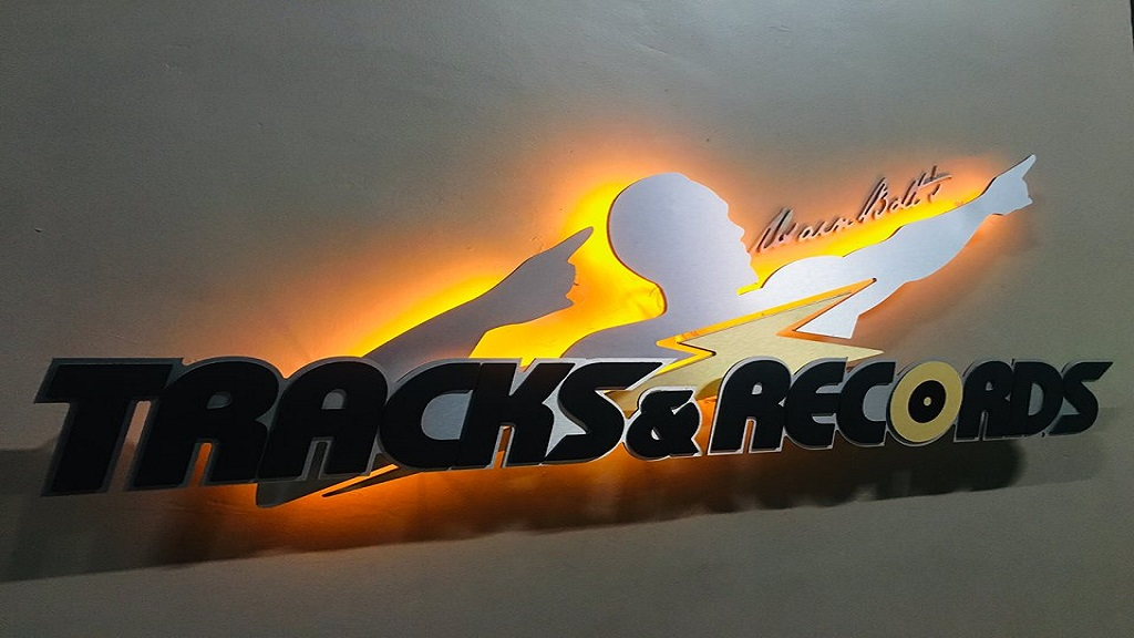 The customer headcount at the Usain Bolts Tracks and Records location in Kingston dropped 10 per cent but efficiency measures led to higher profit for KLE Group.