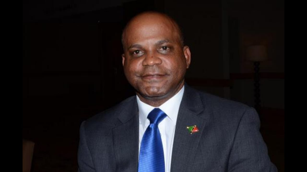 The Honourable Lindsay Grant, Minister of Tourism St Kitts & Nevis.