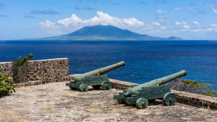 Fort de Windt, Oranjestad, St Eustatius. Photo: iStock/Stephan Kogelman.