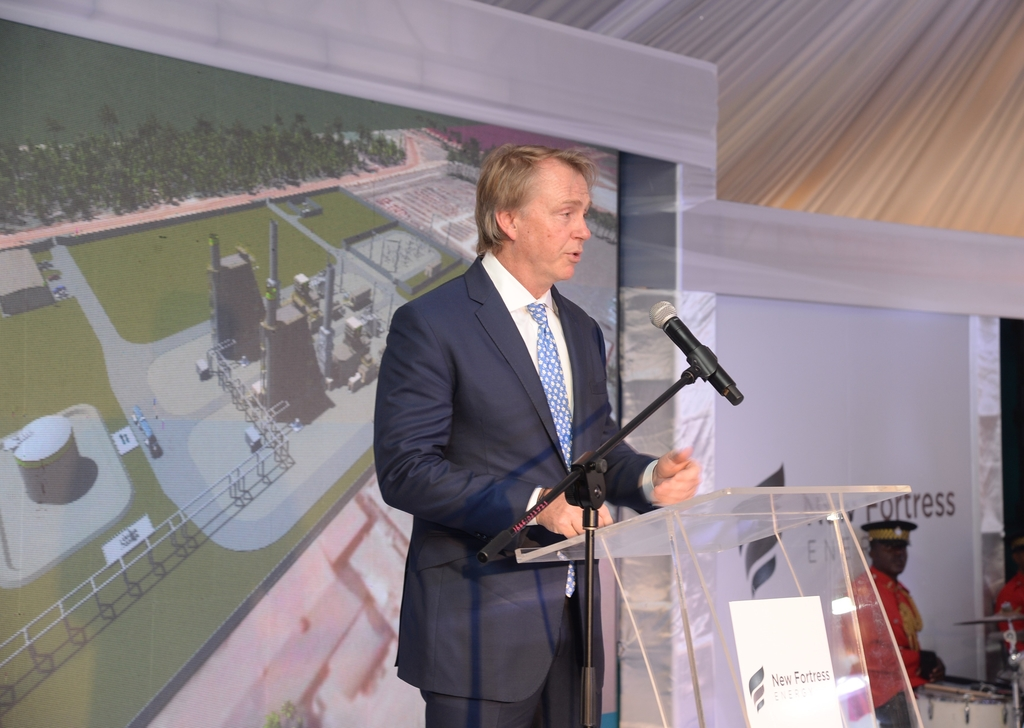 Wes Edens, Chairman and Founder of New Fortress Energy.
