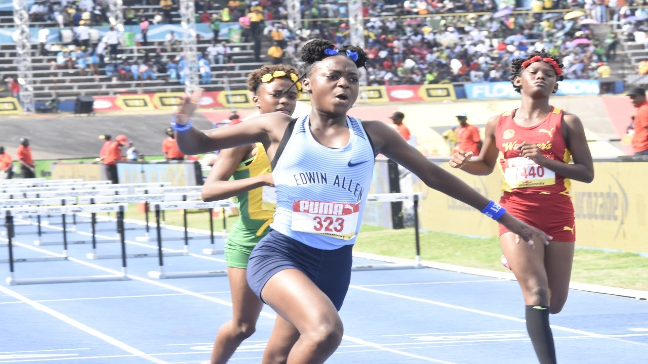 Action from the 2019 Boys and Girls' Athletics Championships.