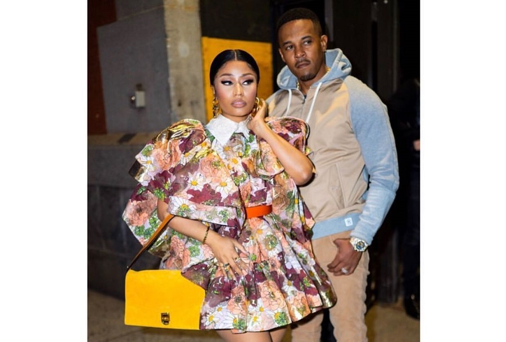 Nicki Minaj and husband, Kenneth Petty