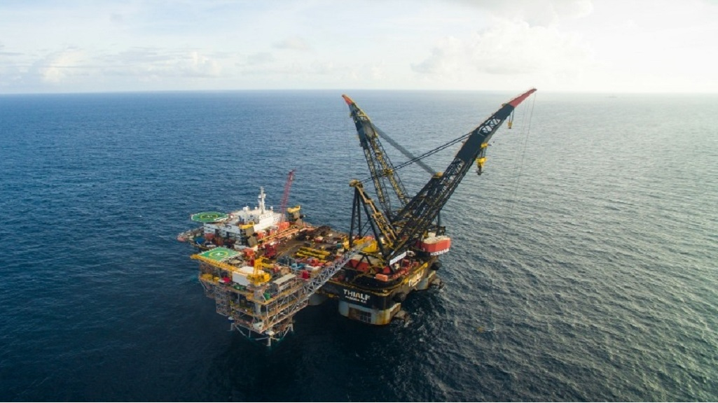 Photo: BPTT's Juniper platform. Photo courtesy BPTT.