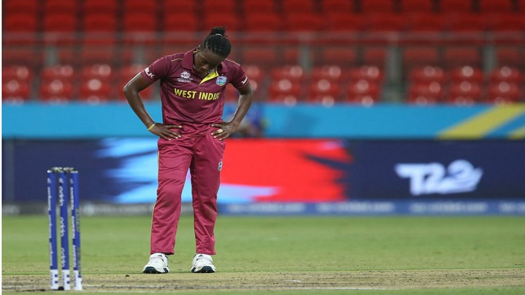 Disappointment. This is the first time on over decade West Indies Women have not reached the final four of the  ICC Women's T20 World Cup.