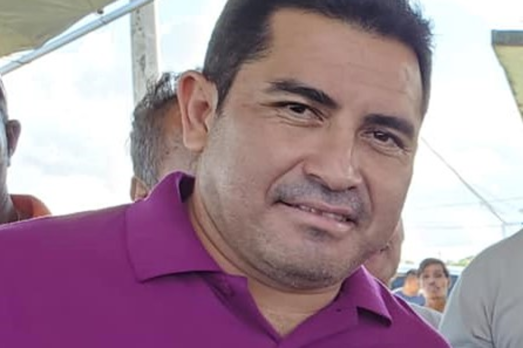 Belize Minister of Natural Resources, Hugo Patt