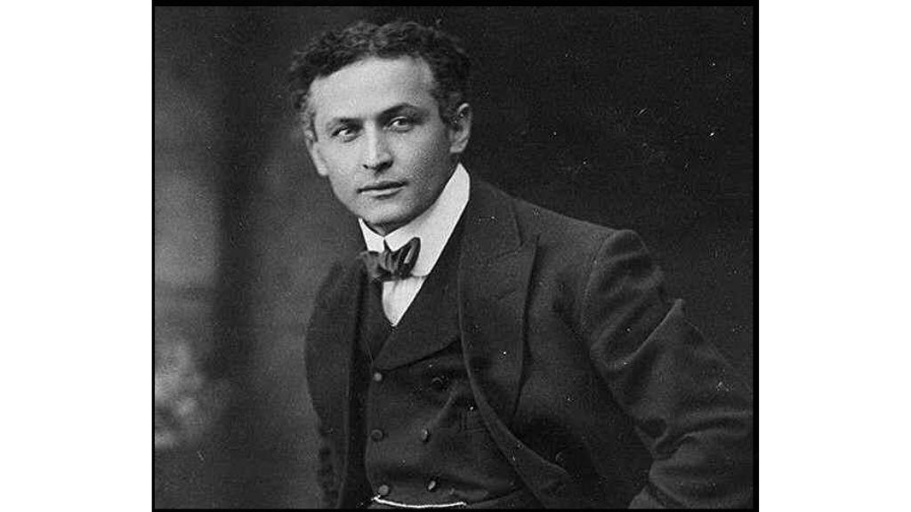 Did you know that on March 24, 1876 master of illusion Harry Houdini was born?