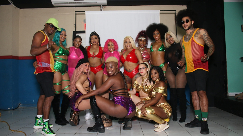 Costumes that will be used for the first Dancehall Road March on July 5