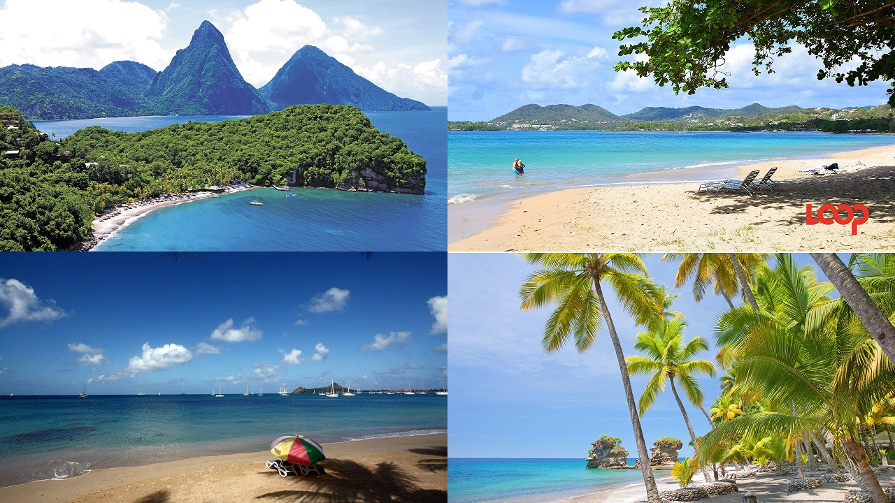 (Images: Clockwise from top left: Anse Chastanet - courtesy of Anse Chastanet resort; Vigie Beach; Anse Mamin - courtesy of Anse Chastanet resort; Rodney Bay - Vlad Podvorny via Flickr)
