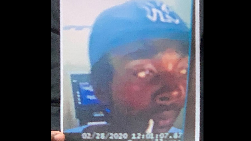 The photo of the man describes as a person of interest in the Jasmine Dean investigation.