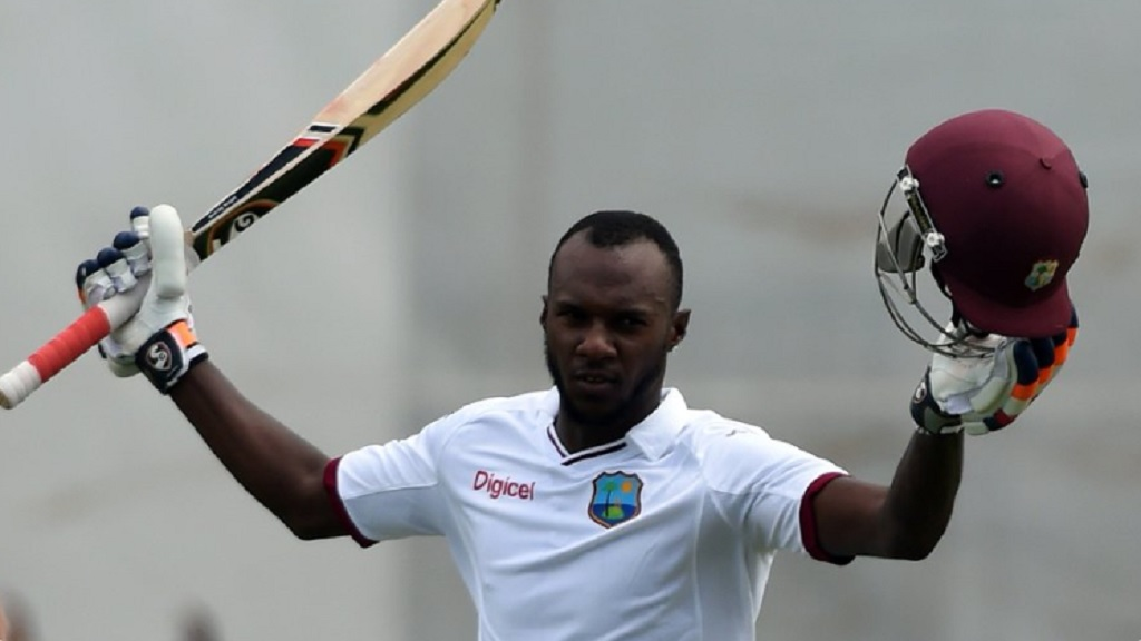 Jamaica Scorpion batsman Jermaine Blackwood completed his maiden first-class double hundred on Saturday against Leeward Islands Hurricanes.