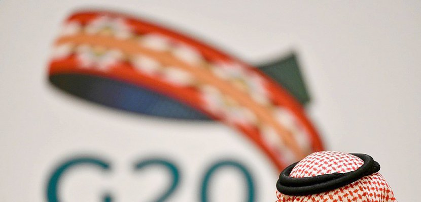 Réunion du G20, présidé par l'Arabie saoudite, en visioconférence prévue le 26 mars 2020 FAYEZ NURELDINE AFP/Archives