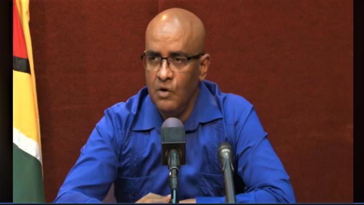 Opposition Leader Bharrat Jagdeo.