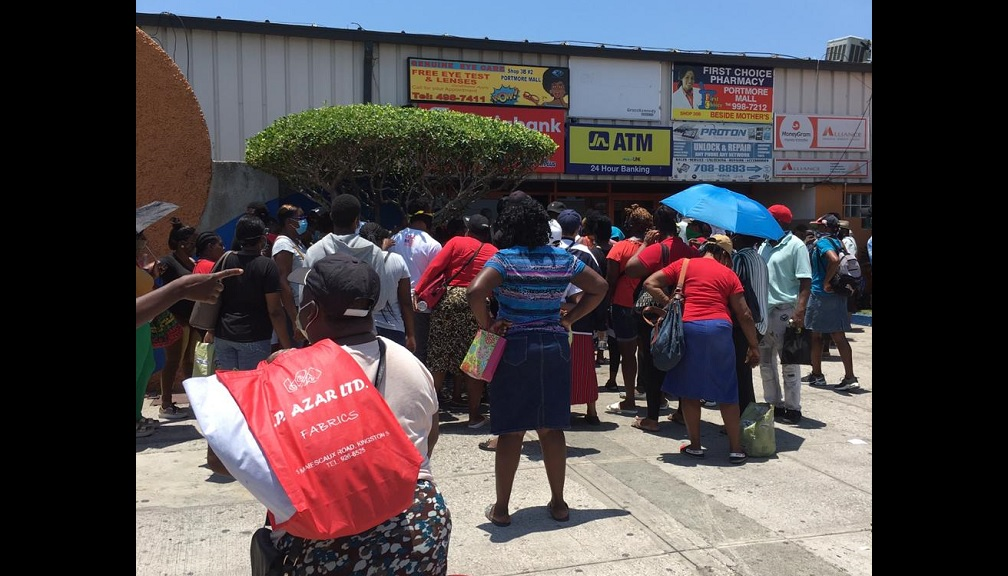 The last two weeks have seen very long lines at remittance agent locations.
