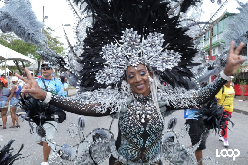 A masquerader from Ronnie and Caro
