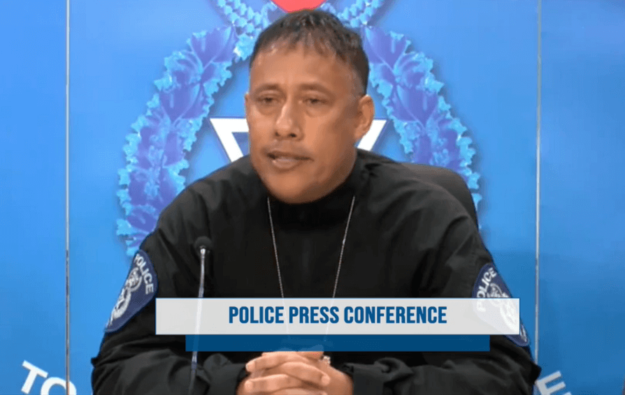 Police Commissioner Gary Griffith speaks at a media briefing on April 1, 2020.