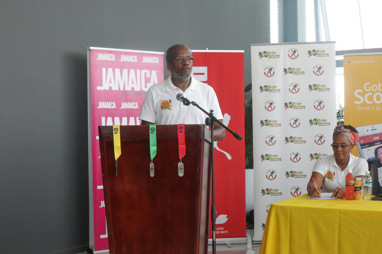 Alfred 'Frano' Francis, Head of the Running Events Jamaica Foundation.