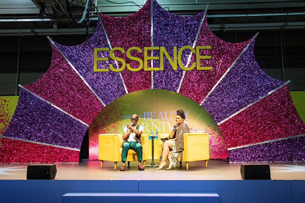 In this July 5, 2019 file photo, Dapper Dan, left, appears at the 2019 Essence Festival in New Orleans. The organizers of Essence Festival said Wednesday, April 15, that they would move their festival to next year after the New Orleans mayor suggested that major spring and summer festivals that had been postponed to later this year should not be held at all in 2020. (Photo by Amy Harris/Invision/AP, File)