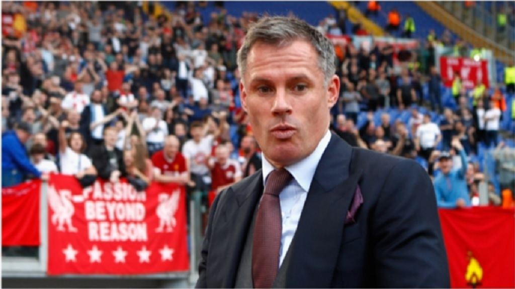 Retired Liverpool player Jamie Carragher.