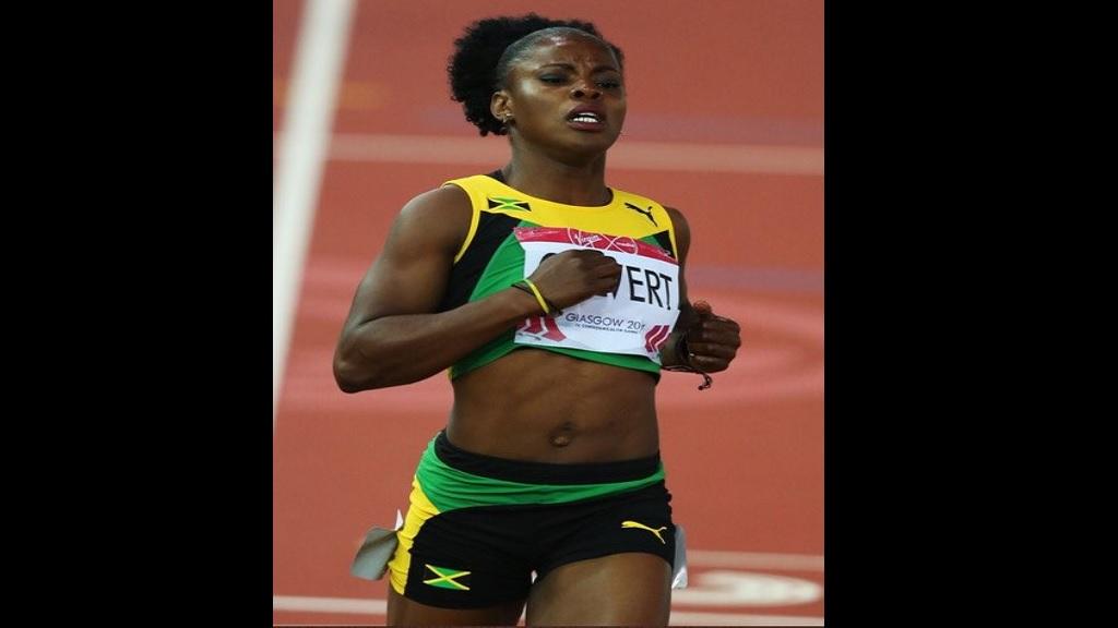 Jamaican Olympian, Schillonie Calvert-Powell.