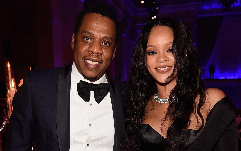 Rihanna et JAY-Z. Crédit photo: CLF