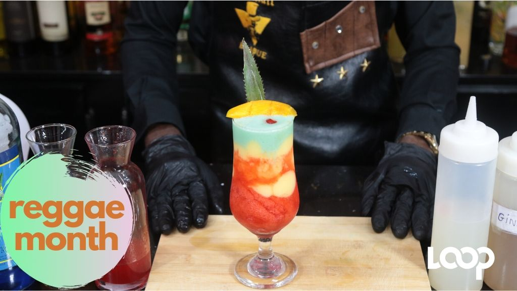 The Reggae Month cocktail by mixologist Trevor Luke.