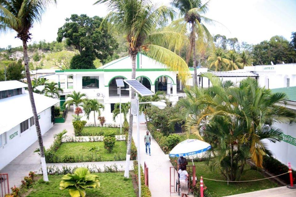 Vu de l'hôpital Sacré-Cœur de Milot crédit Photo : Crudem