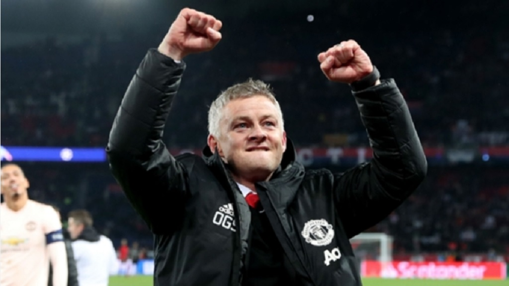 Ole Gunnar Solskjaer in March 2019.